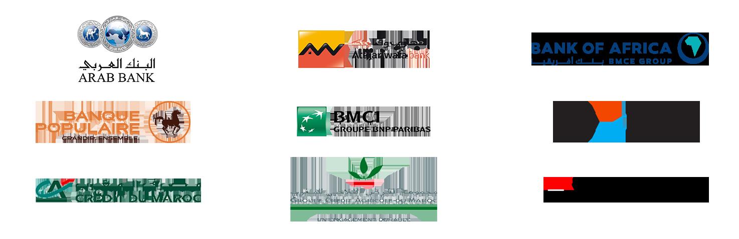 Banques actionnaires CMI