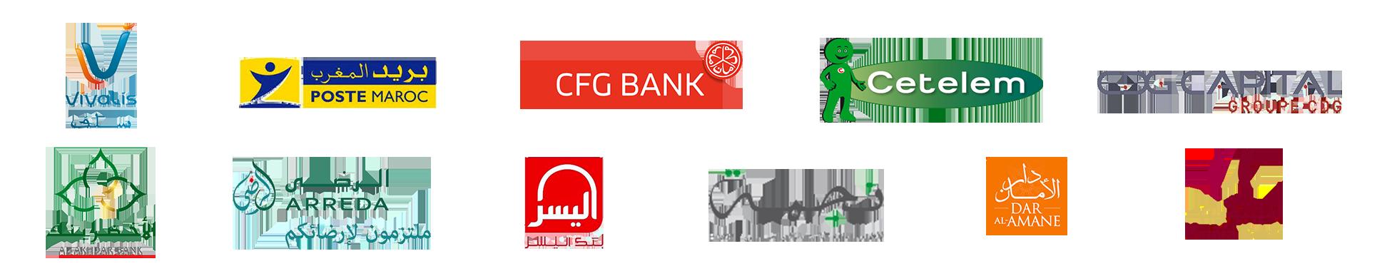 Banques & partenaires